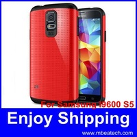 wholesale DHL free shipping 100 pcs/lot  helmet slim armour case for samsung galaxy s5 i9600