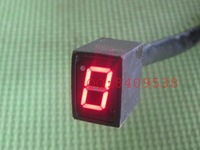 2PCS Red Universal Digital Gear Indicator for Motorcycle New Free shipping