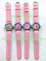 Wholesale 10 pcs Fashion Peppa Pig Ladies Children Girls Quartz Wrist Watches For Xmas Gifts. Free & Drop Shipping!