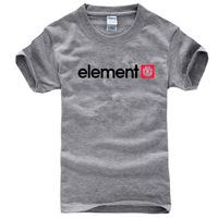 summer famous new brand fashion element skateboard streetwear cotton man t-shirt  tops & tees short sleeve casual t shirt