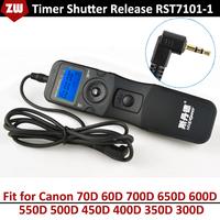 RST7101-1 Digital Timing/Timer Remote Controller Shutter Release for Canon 70D 60D 700D 650D 600D 550D 500D 450D 400D 350D 300D
