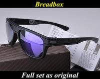 New Arrival Brand Breadbox Fashion Polarized Sunglasses Sports Eyewear,Full Set As Original,Free Shipping