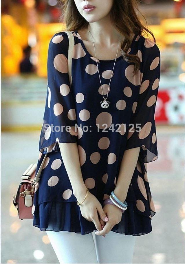 especial das mulheres nova moda coreano temperamento solta de manga curta camisa de chiffon de seda blusa tamanho mm gordura garota verão roupas(China (Mainland))