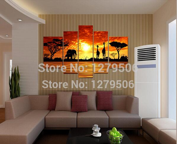 Pintura a óleo abstrata Handmade Seaside sol de alta qualidade de imagem Sala presente original da tela pintada Modern pendurar na parede(China (Mainland))