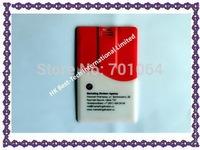 Free shipping :10pcsx 8GB credit card usb flash drive real memory usb flash drive