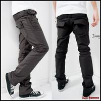 Free shipping hot sale men's long pants slim sport casual double waist design cotton leisure sweatpants men sweatpants 3 colors