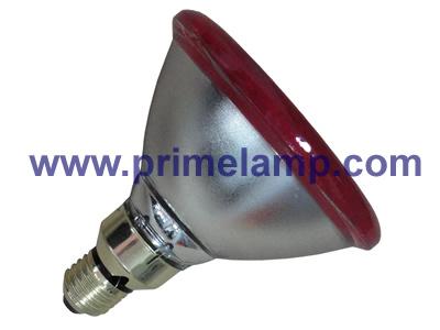 PAR38 Infrared Lamp, 100W Red, Flood Light, E27, 240V(China (Mainland))