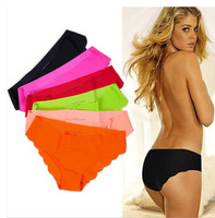 free ship! Sexy shorts Ultra-thin No trace panties briefs 5pcs/lot underwear women Via HK Normal Post without tracking number