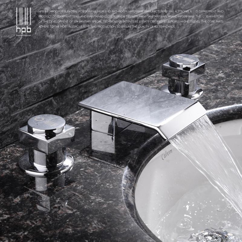livraison gratuite en cuivre logement dgps eau chaude et froide bassin robinet mélangeur bassin hp3204 généralisée