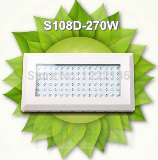 Grátis frete 90 pcs x 3 W Led para o cultivo de plantas lâmpada médica 270 W azul espectro vermelho fábrica de preço barato promoção(China (Mainland))