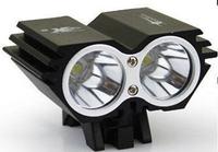 10piece/lots  CREE XM-L 2xU2 LED Bicycle bike HeadLight Lamp Light Set+Charger+Battery Pack