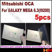 5pcs 250um OCA for Samsung Galaxy i9200 Optical Clear Adhesive For LCD Refurbish   for Mitsubishi  Mitsu