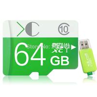 New 2014 design class 10 Micro SD card memory card flash card 64GB SDHC memory card pen drive memory drive