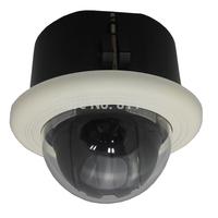 indoor 4inch 650TVL 10X optical zoom embed mini camera dome  ptz high speed dome camera