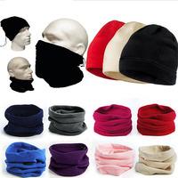 3-in-1 Multipurpose Polar Fleece Neck Warmer Women Men Unisex Polar Fleece Snood Hat Neck Warmer Ski Wear Scarf Beanie Balaclava