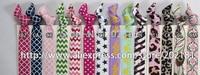 49# Optional colors 50pcs/lot Ribbon Elastics Hair Bands-Girls Hair Accessories Emi Jay Like Elastic Yoga Leopard Hair Ties