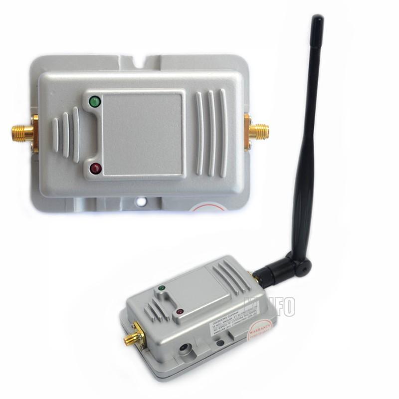 wifi signal amplifier wireless amplifier 2w wireless amplifier 2.4 GHz 2000mW Router WiFi Wireless LAN Signal Booster Amplifier(China (Mainland))
