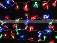 SALE!!!!! 10m 100pcs Led fiber optic lighting background light novelty lamps String Light Decoration twinkle Lights RGB