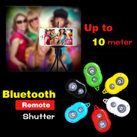 High Quality Bluetooth 3.0 Self Photos Self-timer AB Shutter 3 Remote Control For ios Andiord smart phone free shipping
