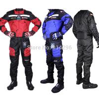 NEW ONE SET jacket&pants 600D DUHAN summer motorcycle racing Oxford waterproof jacket riding motorcycle clothing motorcross suit
