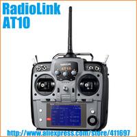 RadioLink AT10 2.4G 10CH Radio System TX/RX 2KM FUTABA 10C for FPV Multi Aircraf