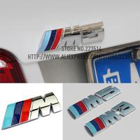 Excellent New 3D M M3 M5 Metal Tail car Sticker Badge For BMW m3 m5 X1 X3 X5 X6 E36 E39 E46 E30 E60 E92 Chrome car emblem
