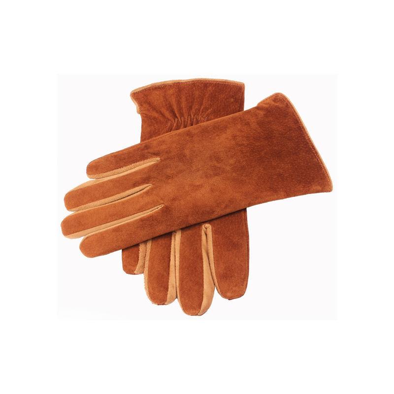 Men Genuine Leather Gloves Brand New Black Brown(China (Mainland))
