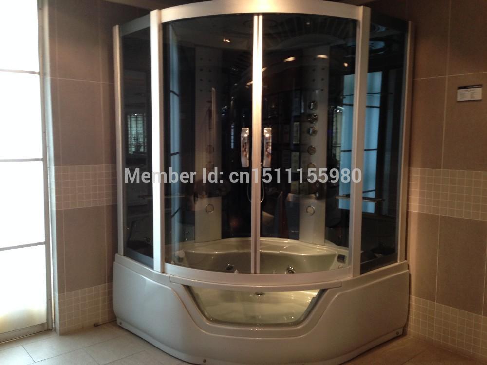luxury steam shower room with whirlpool SC016(China (Mainland))