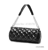 Single shoulder bag 2015 fashion diamond lattice chains the already set bag aslant bag portable female bag wholesale