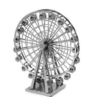 2014 NEW Hong Kong ZOYO genuine DIY 3D puzzle mini-dimensional nano-metal sculpture without glue Ferris Wheel