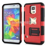 For Samsung Galaxy S5 i9600 Shockproof Anti-knock Rugged Hybrid Beer Bottle Opener Slide Hard Case with Stand