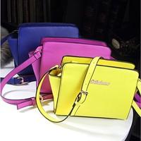 New 2014 Fashion Brief Women's Leather Handbag Vintage Small bags Women Messenger Bag female bags
