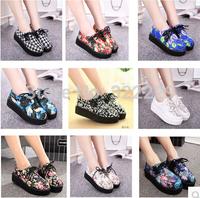 2014 spring and autumn new Harajuku style platform shoes platform shoes shoes British retro shoes in Europe and America