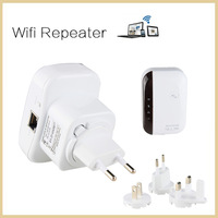 Wireless N WiFi Repeater 802.11N/G/B wifi antenna Network Router Range Expander LAN Adapter 300Mbps WiFi  Signal Booster extend