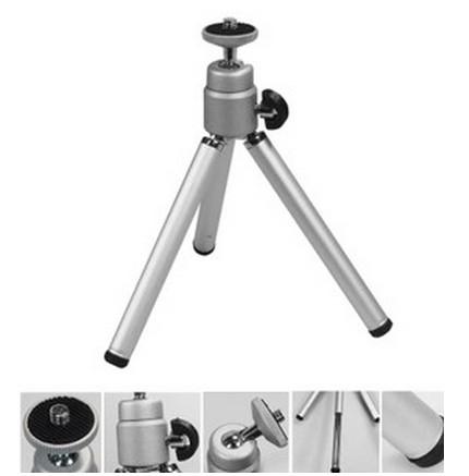 Mini Tripod Professional Aluminum Flexible Light Tripe Camera Stand Tripod Monope Para Celular For Xiaomi Yi Accessories(China (Mainland))