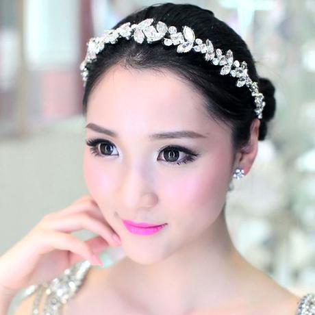 Luxury Crystal Headband Rhinestone Wedding Head Jewelry Vintage Bridal Hair Jewelry Pageant Crowns Headwear Headpieces WIGO0309(China (Mainland))