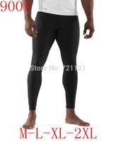 Wholesale Top Quality Lulu Wunder Under Pants High Elastic Yoga Fashion Groove Capris Crop Legging For Men Size M L XL 2XL