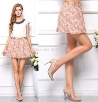 new sale summer mini chiffon skirt women tennis skirt/colorful floral print skirts ladies cool summer clothing/11wTL