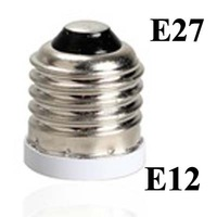 Free shipping 100 pcs/lot Lamp Adapter E27 to E12 Adapter Converter,E27-E12
