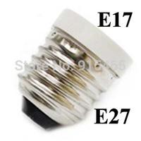 Free shipping 100 pcs/lot Lamp Adapter E27 to E17 Adapter Converter,E27-E17