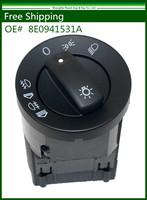 New Headlight Control Head Light Switch Fit for AUDI A4 S4 B6 QUATTRO 8E0941531A