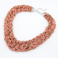 Fashion Bohemian Beads Collar Necklaces Statement Choker Colares Femininos for Women Jewelry Accessories 2014
