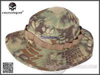 EMERSON Boonie Hat Military Tactical Army Hat Anti-scrape Grid Fabric camouflage hat Kryptek Mandrake EM8737