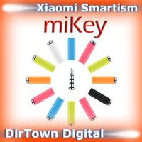 China New Year Sale Original Xiaomi miKey Smartism Dustproof Plug for Mi4,Mi3,Mi2S,Mi2A,Redmi,Redmi 1s,Redmi 2,Redmi Note