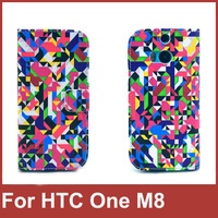 New Arrival 2014 Fashion Case Cover For HTC One 2 M8 PU Leather Stand Wallet Mobile Phone Bag