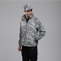 Big Sale TAD Camouflage Men Outdoor Prevent Bask Jakcet Men Hoodie Jacket Waterproof Jacket High Quality Free Shipping