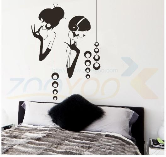Стикеры для стен gilr zooyoo8062 adesivo parede ZYVA-8062-NA стикеры для стен zooyoo8013 adesivo parede zyva 8013 na