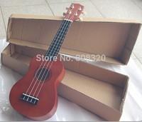 "Freeshipping!!! Professional 21"" Acoustic Electric Soprano Ukulele Musical Instrument Coffee"