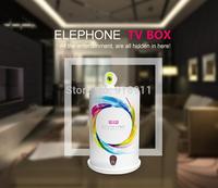 Original Elephone Brand Smart TV Box Quad Core 1.6GHZ RK3188 1G RAM 8G ROM Android 4.4 TV Box Support Bluetooth Wifi HDMI Port