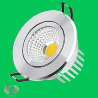 Free Shipping 12W COB LED Downlight Equal To 120W Incandescent Bridgelux Chip Warranty 3 Years Lifespan 50000H LED Downlight COB